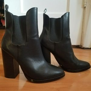 Leather Guess Boot